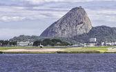 Джет готов к вылету в Рио-де-Жанейро — Стоковое фото