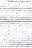 White fogy brick wall — Foto Stock