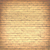 Misty brick wall — Fotografia Stock