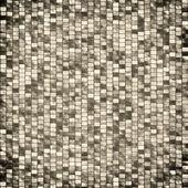 Design de cartaz mosaico retro — Fotografia Stock