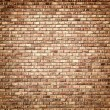 Interior design - brick wall — Stock Photo