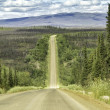 Stock Photo: Dalton Highway in Alaska