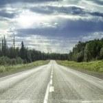 Alaska Highway — Stock Photo
