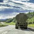 Truck with trailer — Stockfoto