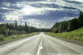 Alaska Highway — Stock Photo
