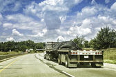 Oversize truck — Stock Photo
