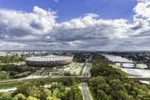 Stadio nazionale di varsavia — Foto Stock