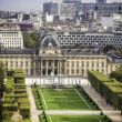 Aerial View on Champ de Mars in Paris — Stock Photo