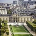 Aerial View on Champ de Mars in Paris — Stock Photo #35144443