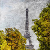 Eiffel tower view — Stock Photo