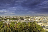 Aerial view of Paris , France — Stock Photo