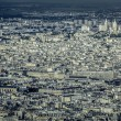 View of Paris with Sacre Coeur Basilica  — Stock Photo
