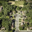 Residential buildings from above — Stock Photo
