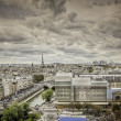 View on Eiffel Tower, Paris — Stock Photo