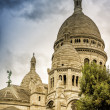 The Basilica of Sacre Coeur in Montmartre — Stock Photo
