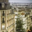 Apartment buildings in Paris — Photo