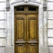 Old wood arch entry door — Stock Photo #36520891