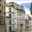 Apartment buildings in Paris — Stock Photo