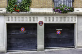 Two car garage in Paris — Stock Photo