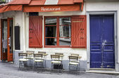 French restaurant — Stock Photo