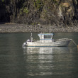 Small fishing boat — Stock Photo