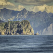 Cruise near Seward, Alaska, USA — Foto Stock