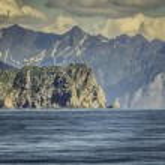 Cruise near Seward, Alaska, USA — Foto Stock