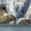 Stock Photo: Avalanche in glacier bay