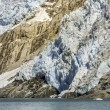 Glacier bay in sunny day — Stock Photo