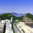 Copacabana beach on sunny day — Stock Photo