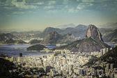 Rio de Janeiro on sunny day — Stok fotoğraf