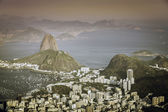 Sunset over Rio de Janeiro ,Brazil — Stock Photo
