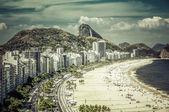 Rio de janeiro, Brazilië - copacabana-strand — Stockfoto
