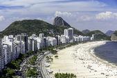 Rio de Janeiro, Brazil - Copacabana Beach — Stockfoto
