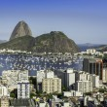 Rio de Janeiro aerial view, Brazil — Stock Photo #44008861
