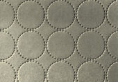 Background of textile texture with circle pattern decoration — Stock Photo