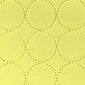 Textile textured background with circle pattern decoration — Stock Photo