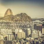 Rio de Janeiro sunny aerial view, Brazil — Stock Photo #49549587