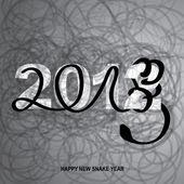 HAPPY NEW SNAKE YEAR — Stock Vector