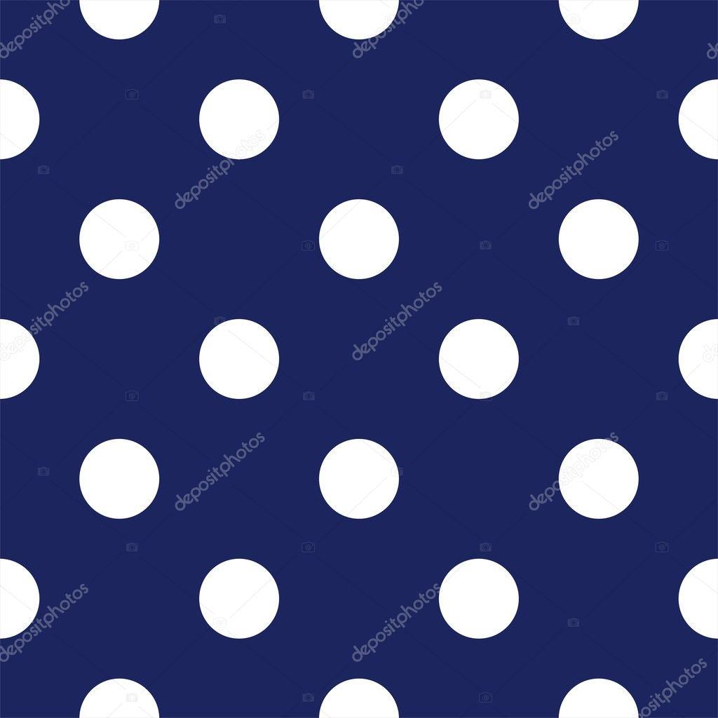 Navy Blue Polka Dot Backgrounds
