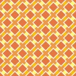 Stock Vector: Vector orange and yellow seamless pattern, autumn background or texture