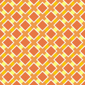 Vector orange and yellow seamless pattern, autumn background or texture — Stock Vector
