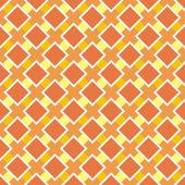 Vector oranje en gele naadloze patroon, herfst achtergrond of textuur — Stockvector