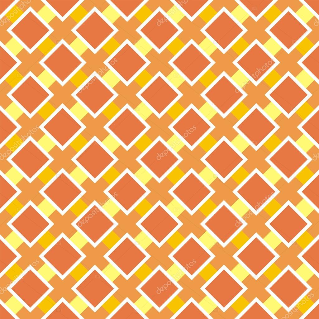 Vector sweet big orange and yellow background for website, wallpaper, desktop, invitations, wedding or birthday card and scrapbook. Seamless retro autumn or thanksgiving pattern.  Vektorgrafik #12675422