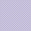 Polka dots on light violet background retro seamless vector pattern — Stock Vector #13157613