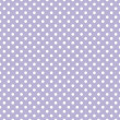 Stock Vector: Polkdots on light violet background retro seamless vector pattern