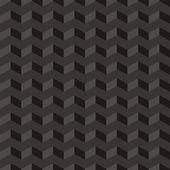 Aztec Chevron dark vector seamless pattern, texture or background — Stock Vector