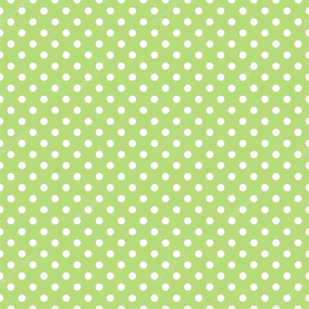 Seamless Pattern With Small White Polka Dots On A Retro