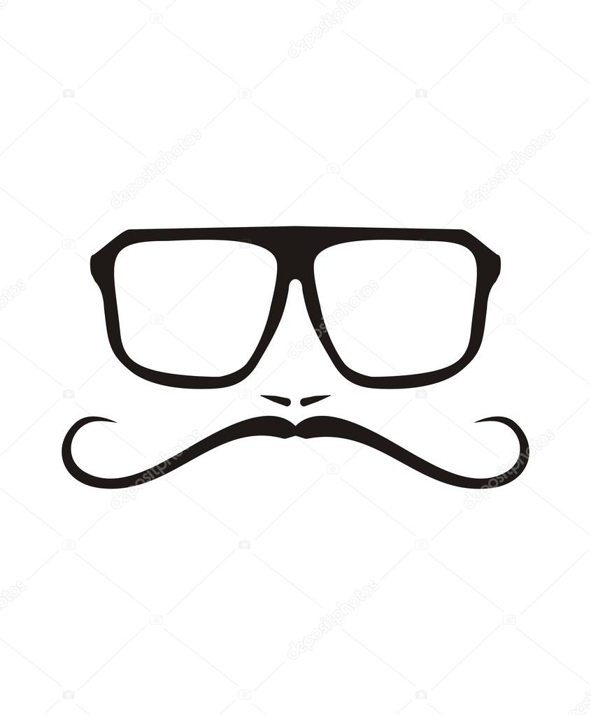 ... hipster glasses frames hipster glasses sketch hipster beard vector
