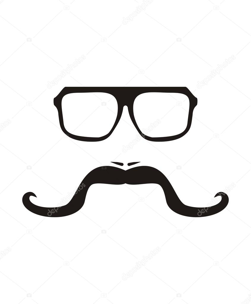 Hipster Glasses Template, Stock Images similar to ID 126659942 ...